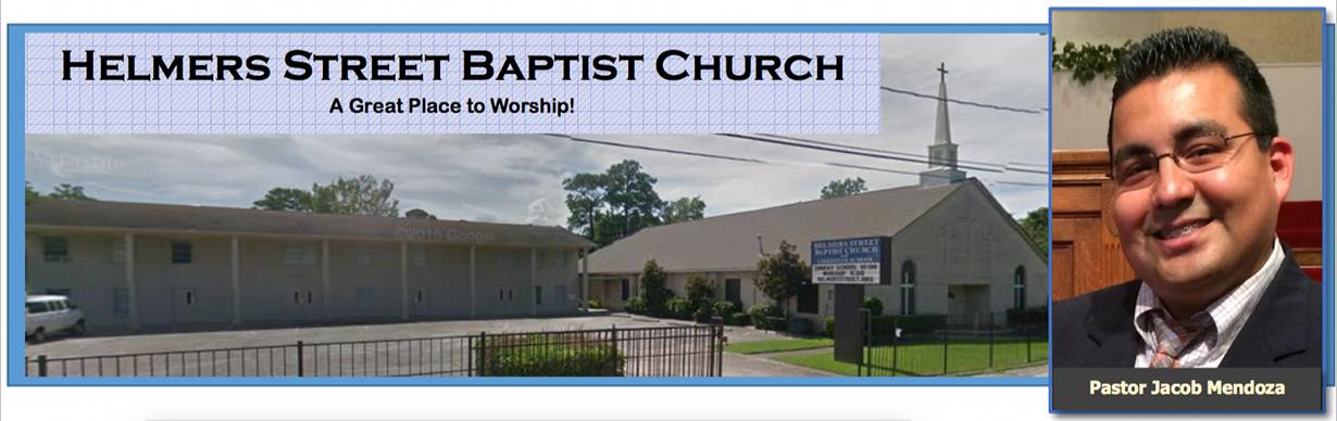 Helmers Street Baptist and Pastor Jacob Mendoza